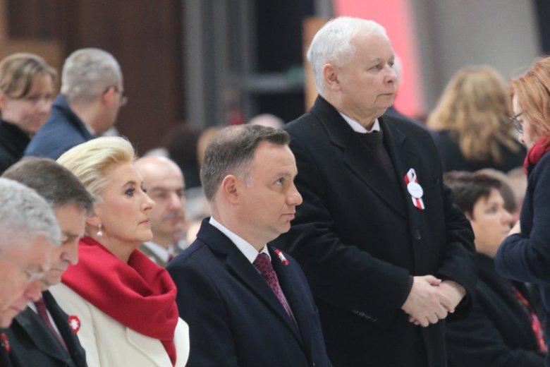 Jarosław Kaczyński na razie nie widzi innego kandydata na prezydenta niż Andrzej Duda. Na razie.