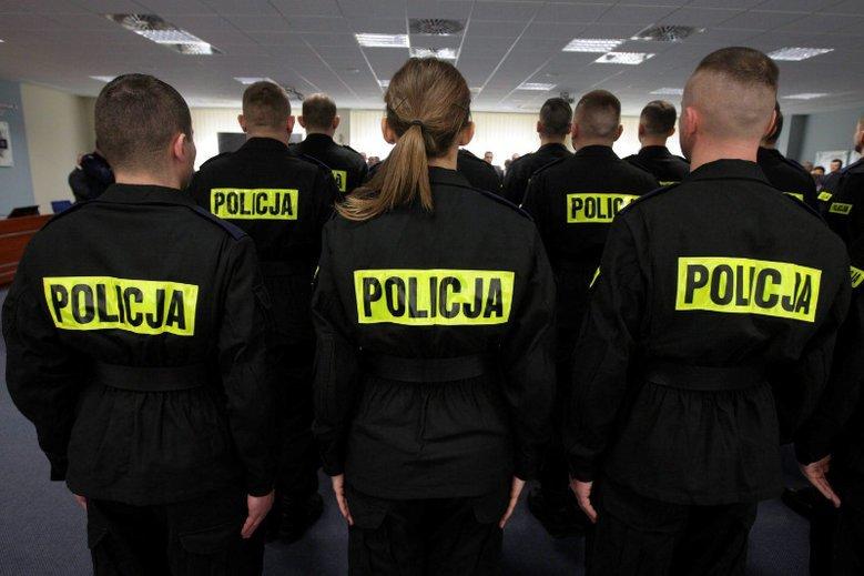 Dziwne zachowanie komendanta miejskiego policji z Wrocławia