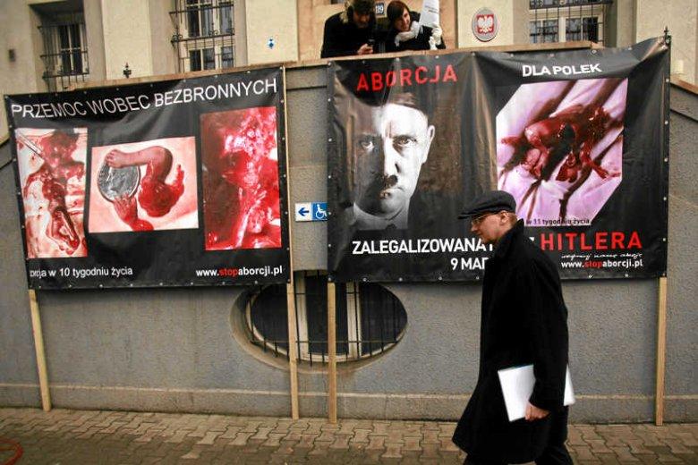 Wystawa antyaborcyjna w Katowicach
