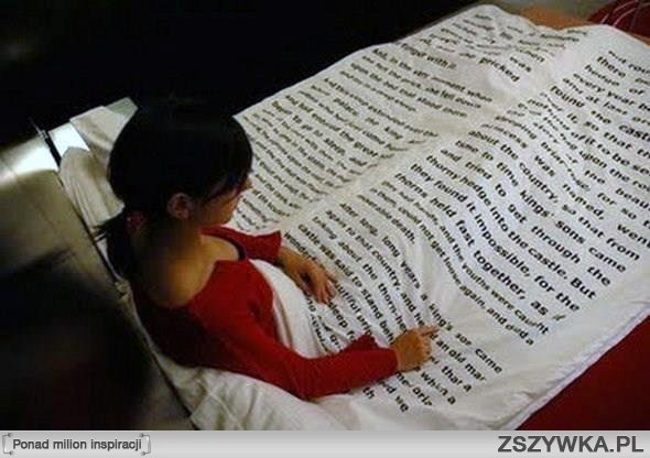 Czytanie w łóżku