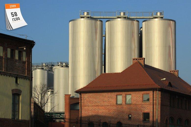 Powstała w 1999 roku Kompania Piwowarska to lider polskiego rynku piwa. Na zdjęciu należące do grupy piwowarskiej Tyskie Browary Książęce