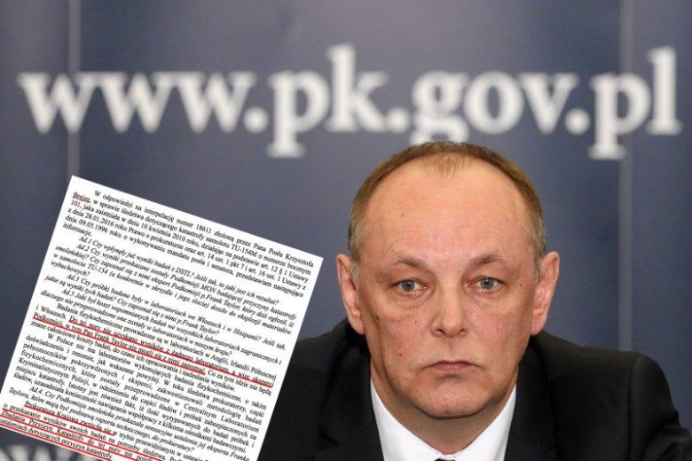 Odpowiedź prokuratora Pasionka w sprawie wyników śledztwa dotyczącego katastrofy smoleńskiej zdumiewa.