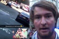 W mediach społecznościowych jest mnóstwo zdjęć i filmików z miejsca tragedii w Nowym Jorku.
