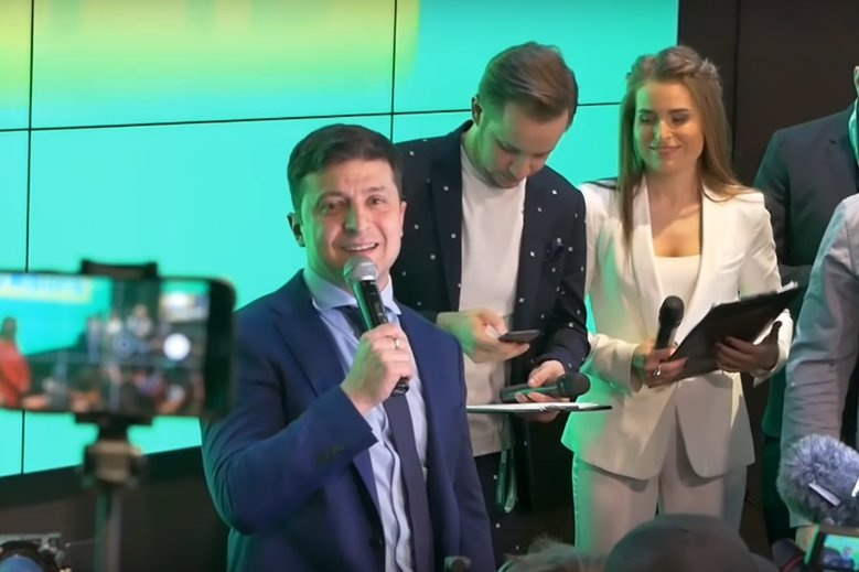 Nowy prezydent Ukrainy zaczyna dosyć ostro.
