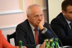 Stefan Niesiołowski wysłał do Sejmu pismo o zrzeczeniu się immunitetu.