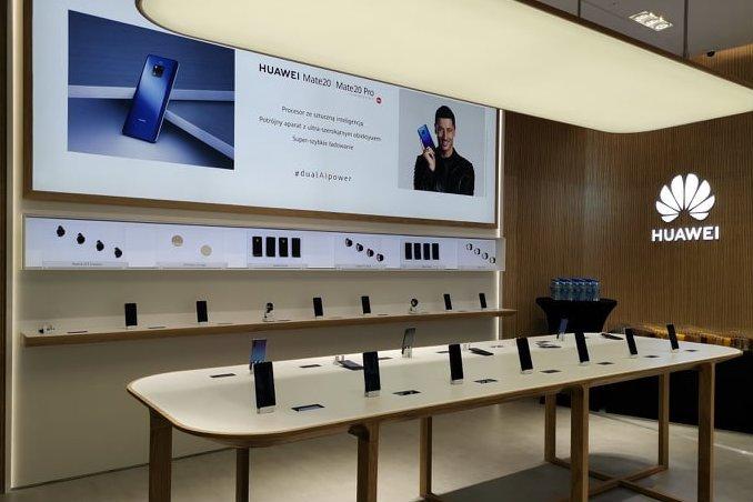Huawei otwiera w Arkadii swój pierwszy sklep flagowy w Europie Środkowo-Wschodniej.