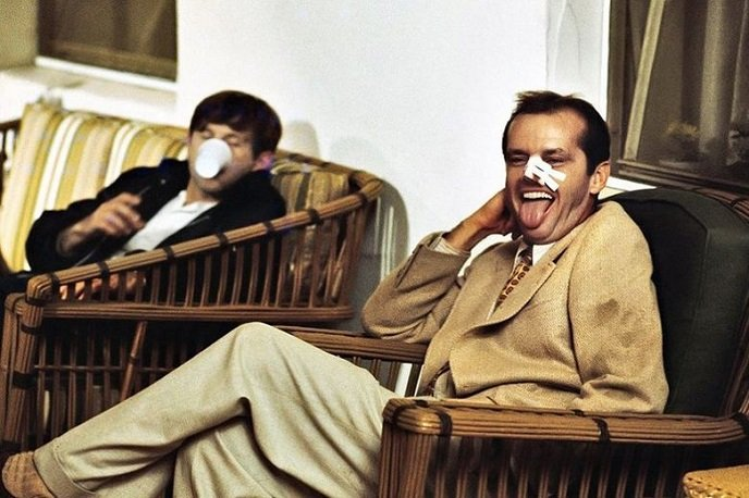 Roman Polański i Jack Nicholson