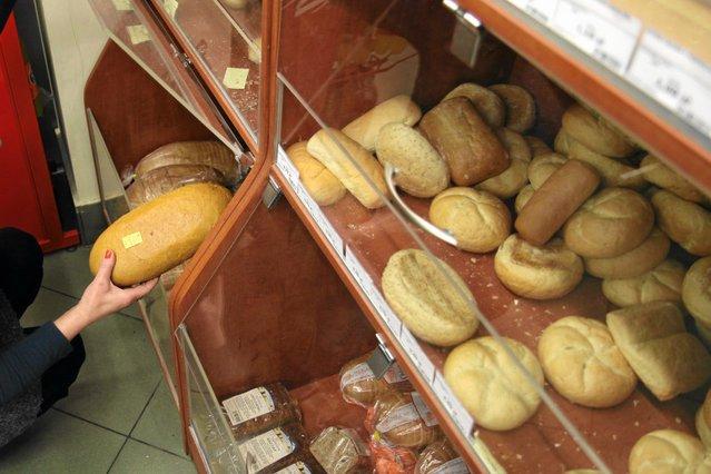 """Piekarnia """"Grzybki"""" zdecydowała się podnieść ceny pieczywa i wyrobów cukierniczych."""