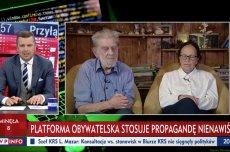 """Andrzej Gwiazda w programie """"Minęła 20"""" u Michała Rachonia: rok 2015 rokiem odzyskania niepodległości."""