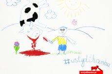 Dziecięce rysunki mają zniechęcić posłów do głosowania za ubojem rytualnym.