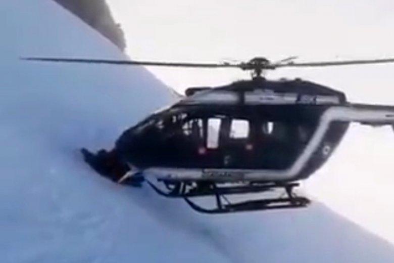 Ta akcja francuskich ratowników górskich jest na ustach całego świata.