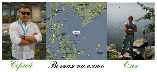 Ukraińscy pasażerowie samolotu MH370