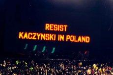 Roger Waters nawet w dalekim Meksyku wzywa do oporu przeciwko Kaczyńskiemu.