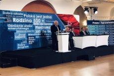 Prezes PiS jak zwykle nie omieszkał skrytykował rządów PO-PSL.