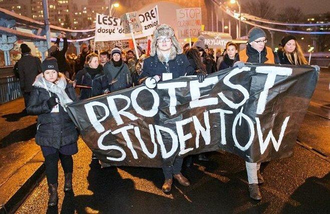 Protest Studentów 2017