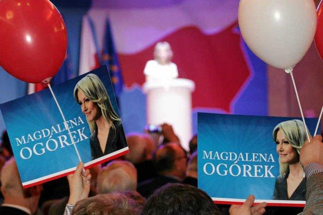 Magdalena Ogórek była kandydatką SLD na prezydenta RP
