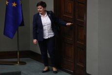 """Tygodnik """"Wprost"""": Beata Szydło nie ma szans zostać komisarzem UE."""