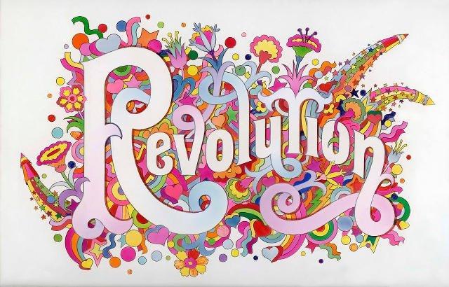 "Okładka ""Revolution"" Beatlesów"