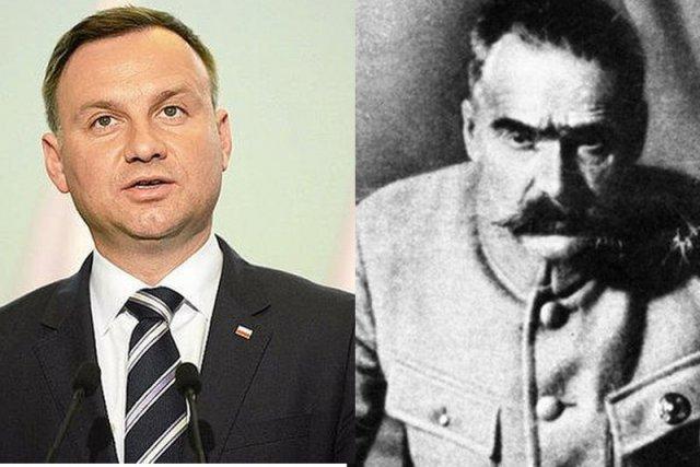 """Andrzej Duda wskrzesi ideę """"międzymorza"""", której hołdował Józef Piłsudski?"""