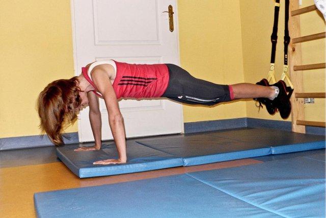 Maja Włoszczowska podczas treningu
