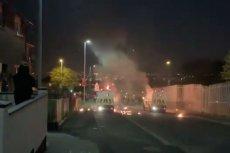 Do zamieszek doszło w jednej z dzielnic miasta Londonderry.