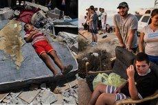 Podczas gdy w Strefie Gazy giną palestyńscy cywile, Izraelczycy podziwiają ataki rakietowe Izraelczyków