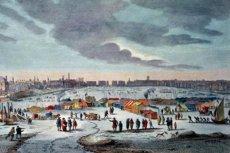 Targi na zamarzniętych rzekach i zatokach były powszechne, ciekawe są jednak wzmianki o tych na środku Bałtyku.