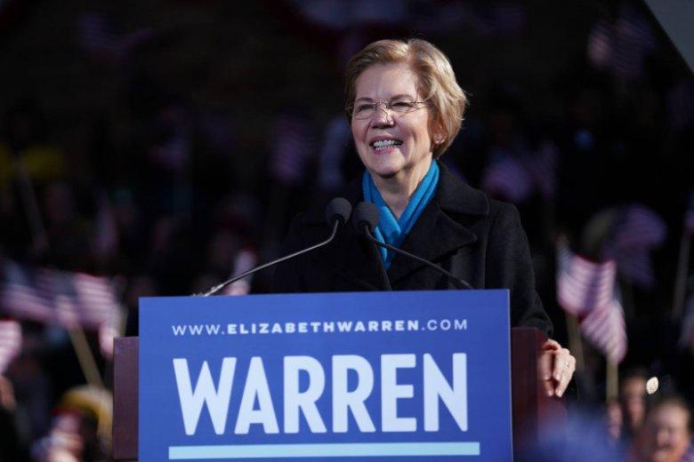 To pierwsza kandydatka w amerykańskich wyborach w 2020 roku.