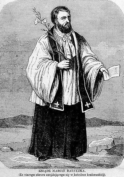 Marcin Baryczka, ilustracja z pisma Tygodnik Ilustrowany, 1864.