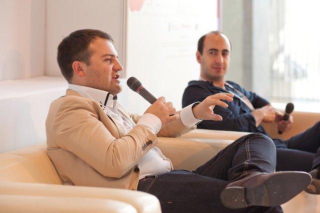Max Gurvits i Samer Karam - przedsiębiorcy z Bułgarii i Libanu