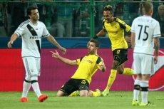 Borussia Dortmund przytłoczyła Legie Warszawę. Legioniści zbierają baty.