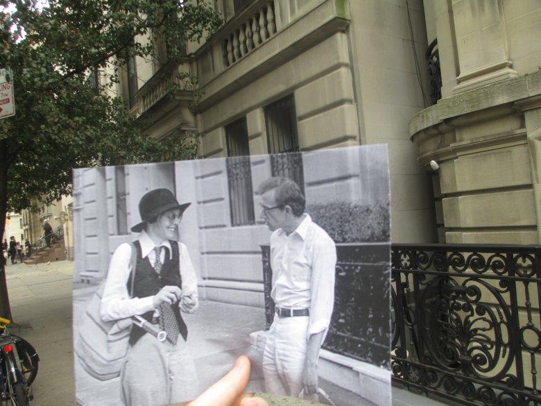 """ulubiony kadr Malloneya. Allen i Keaton w """"Annie Hall""""."""