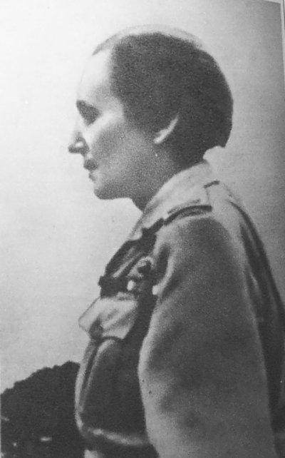 Wanda Gertz jako żołnierz Kazimierz Żuchowicz