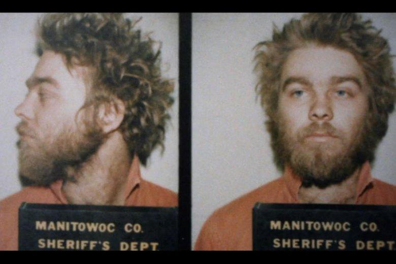 Steve Avery na zdjęciu policyjnym.