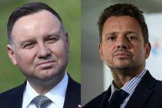 Andrzej Duda traci poparcie. Rafał Trzaskowski coraz silniejszy w sondażach.