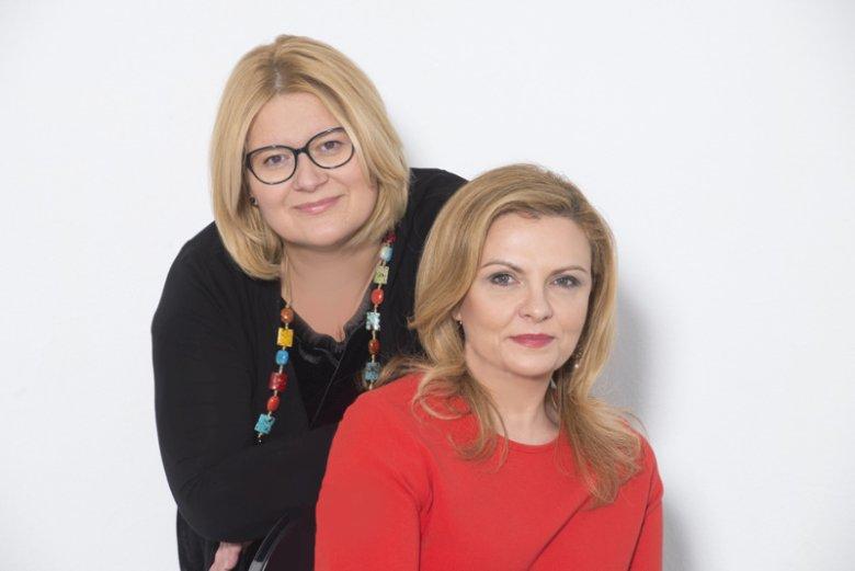 Elżbieta Brzozowska - Dyrektor Zarządzająca i założycielka firmy ExpertPR oraz Ewa Matusiak - Dyrektor ds. Strategii i Rozwoju.