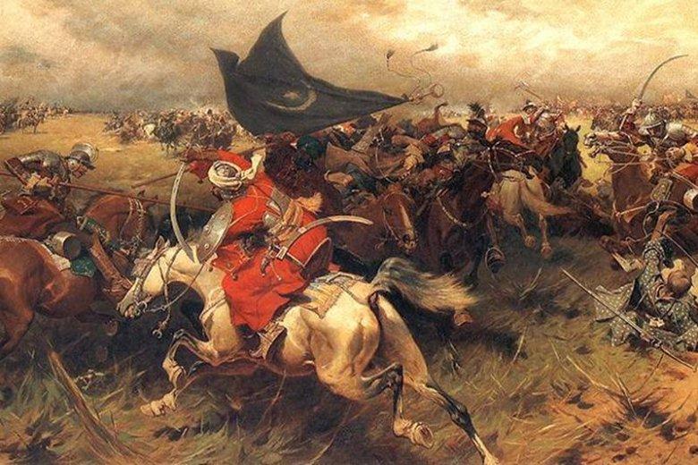 Epizod z wojen polsko-tureckich XVII w. wg J. Brandta.