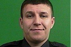 Policjant Artur Kasprzak
