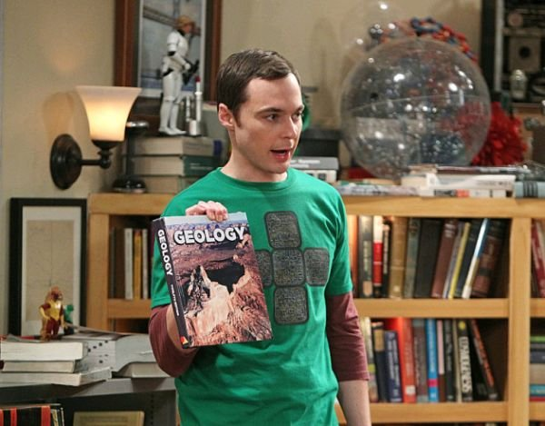 "Bohater kultowego serialu ""Big Bang Theory"" - Sheldon Cooper."