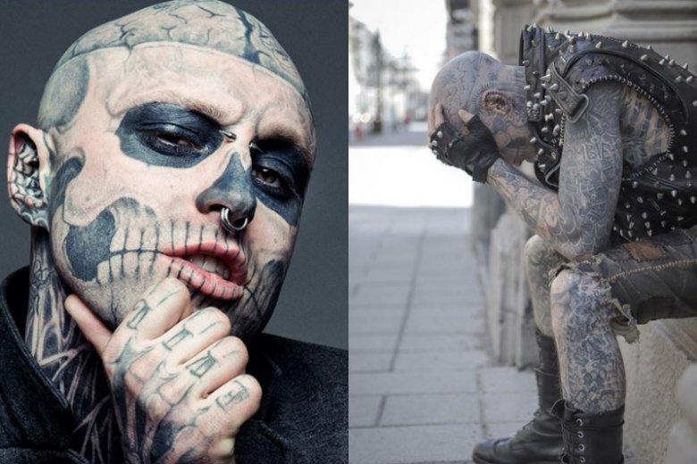 Zombie Boy występował w filmach i teledyskach, chodził tez po wybiegach dla wielkich projektantów. W wieku 32 popełnił samobójstwo