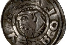 Denar Bolesława Chrobrego, ok 1000 roku.