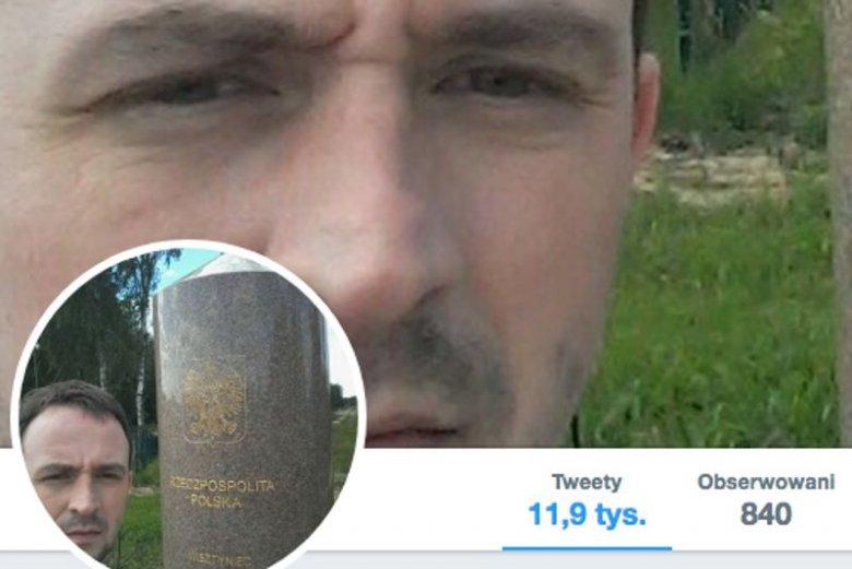 Karol Wyszyński, radny PiS z Nowogrodu zaszokował swoim wpisem na Twitterze
