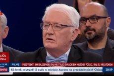 Krzysztof Wyszkowski zamiast o zmarłym premierze mówił o Donaldzie Tusku