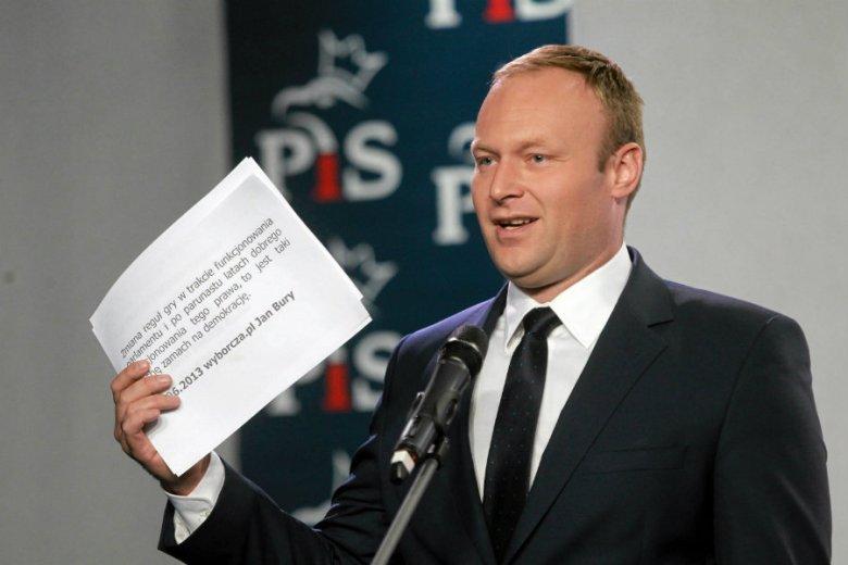 Marcin Mastalerek nazywa zachowanie PiS narkotyzowaniem się sondażami.