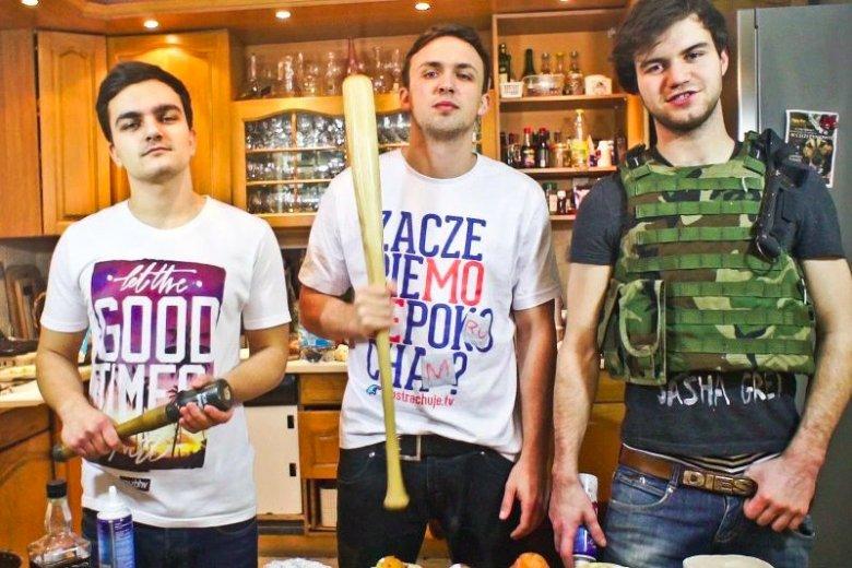 Cezary Jóźwik, Robert Pasut, Rafał Masny, czyli ekipa ABSTRACHUJE TV