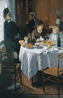 Portret Rodziny. Claude Monet. Obraz powstały ok. 1868 roku.