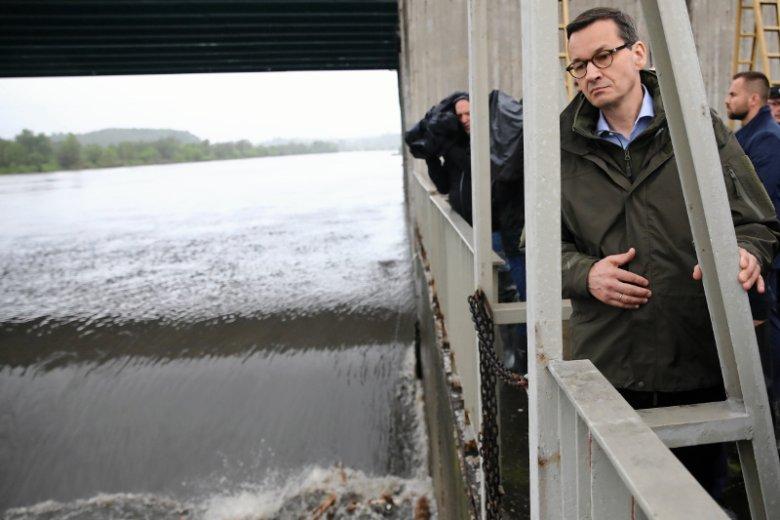 Na razie nie ma co oczekiwaćpoprawy sytuacji powodziowej.
