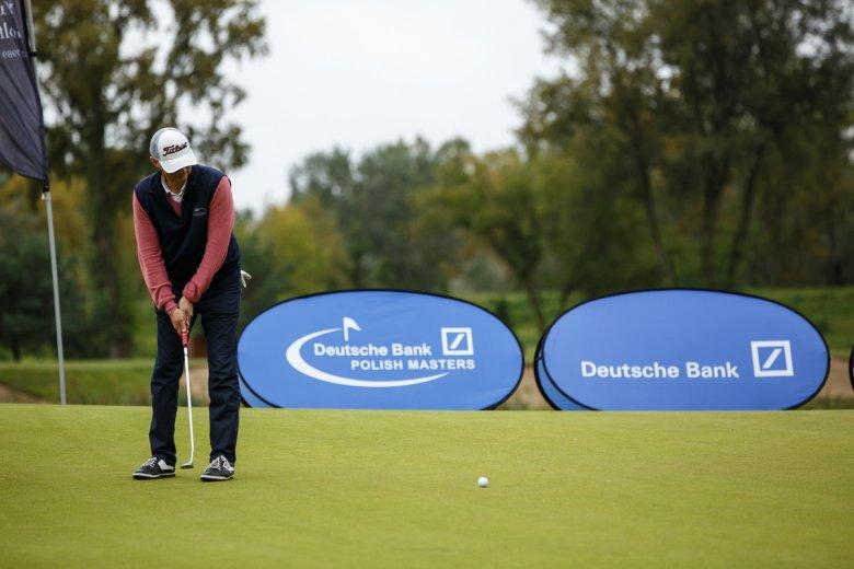 Deutsche Bank Polish Masters przyciąga co roku ok. 1,3 tys. golfistów