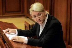 Beata Sawicka na rozprawie sądowej
