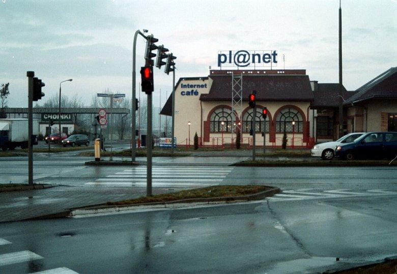 Największa kafejka internetowa w Opolu - zdjęcie z 2000 roku.